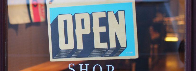Shop Schild offen